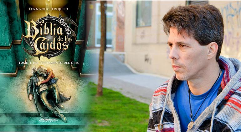 Fernando Trujillo, creador de la saga La Biblia de los Caídos, participará en laFIL-Lima